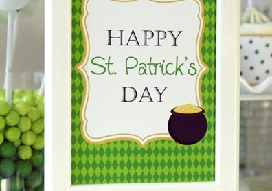 St. Patrick's Day Party Ideas We Love!